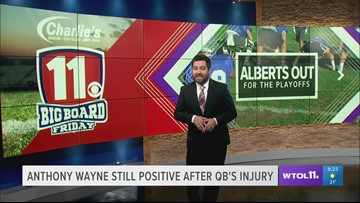 Anthony Wayne football still positive despite losing their star quarterback