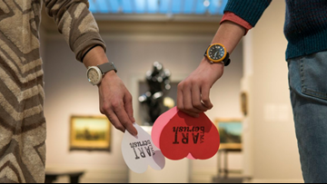 Make art your Valentine, win prizes at TMA this weekend