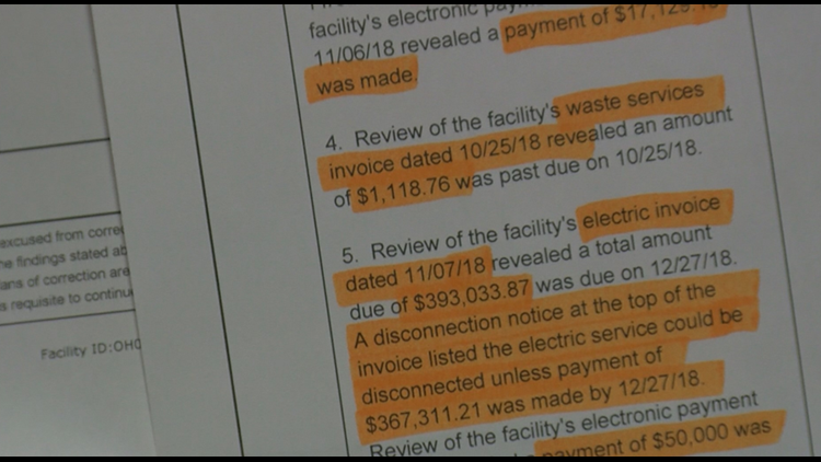 11 Investigates: Local nursing home has pattern of wrongdoing, documents show