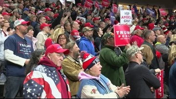 Make America Great Again rally attendees react to Trump's speech