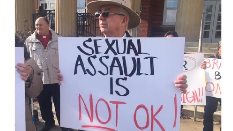 Tim Braun protest
