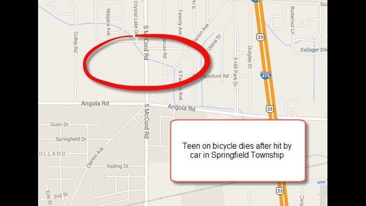 17-year-old killed in car-bicycle crash in Springfield Twp