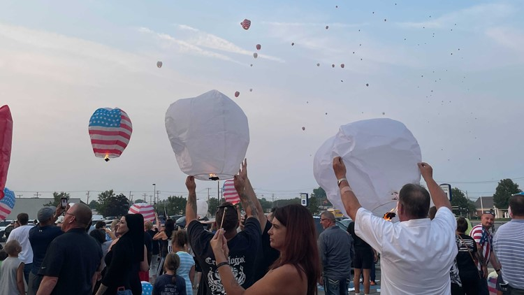 One year later, community support for fallen officer Anthony Dia's family is still strong