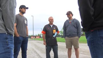 BGSU baseball alumni surprise longtime coach; begin push to save program