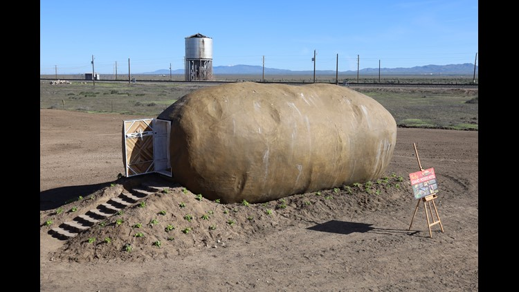 Stay at this giant potato Airbnb in Idaho | wtol com