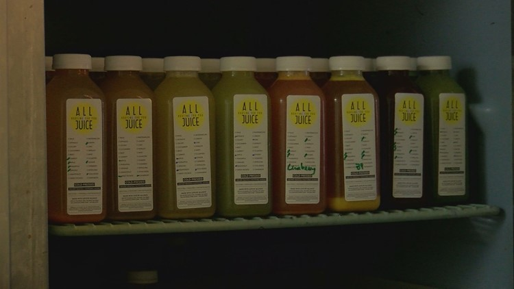 All Juice has many drinks to choose from, made with all-natural ingredients
