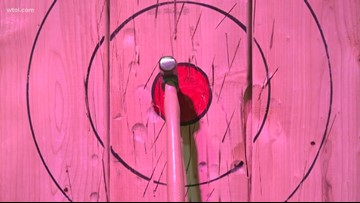 Axe 419 expands operations, offers more ax-throwing lanes