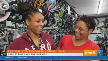 Bikes for Kids: June 12 winner