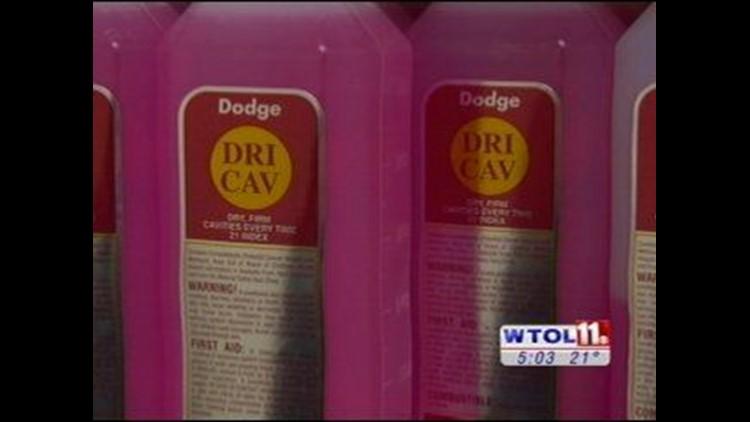 Thief nabs formaldehyde, embalming fluid from Toledo funeral home