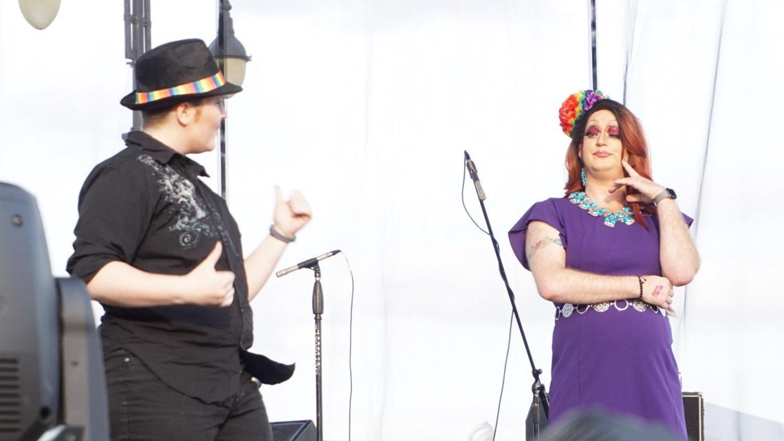 Image result for Interpreting team includes everyone at Toledo Pride