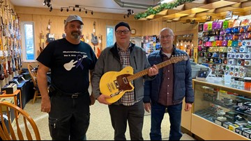 Guitar, bass donated back to local musician battling pancreatic cancer