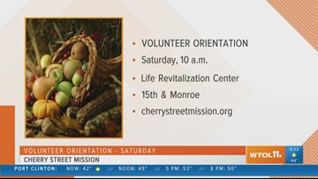 Volunteer at The Cherry Street Mission this holiday season