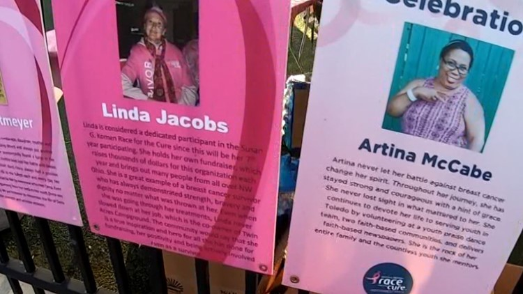 Race for the Cure returns to downtown Toledo to remember, celebrate