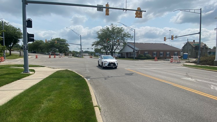 Findlay 5-way intersection to close for 90 days