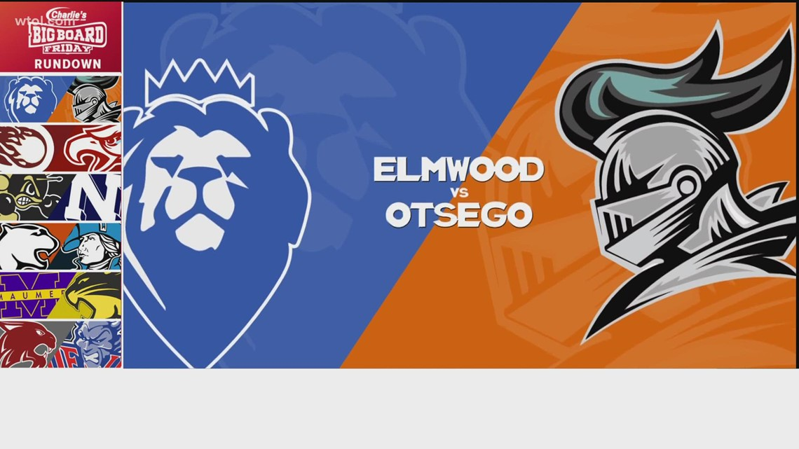 Big Board Friday Week 5: Game of the Week - Elmwood vs. Otsego