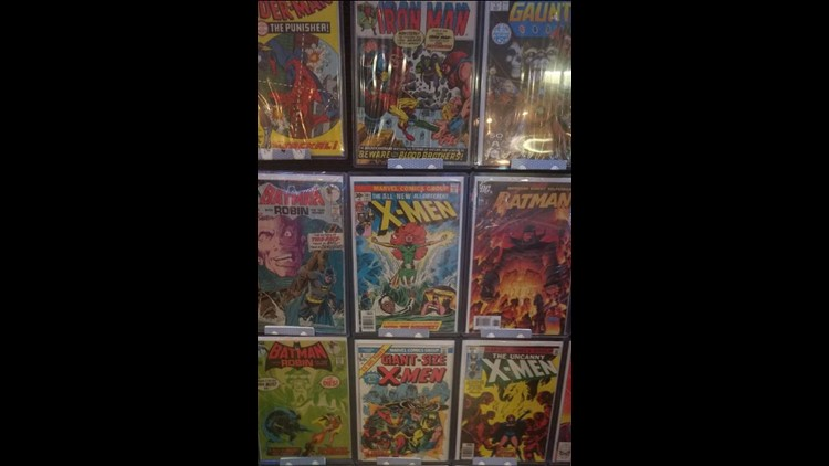 Bowling Green man collects comic books for 50 years, now you can purchase part of his collection
