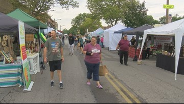 Annual Labor Day Block Party packs Adams Street
