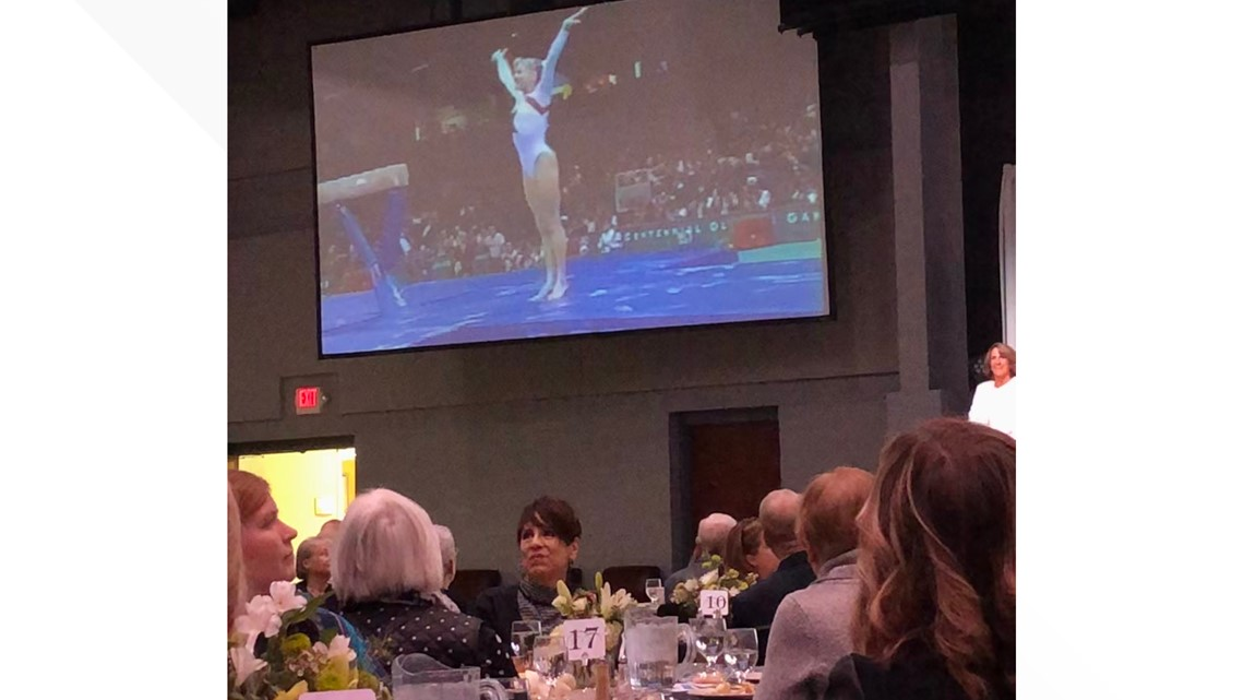 PHOTOS: Olympian Shannon Miller at Bryan cancer symposium
