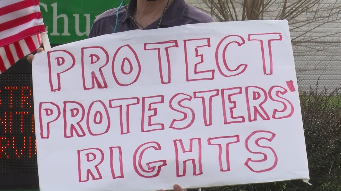 Protecting the right to protest: Toledo church holds rally against proposed