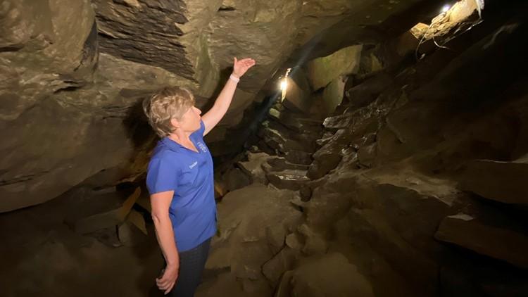 Seneca Caverns offers a unique underground adventure