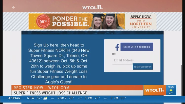 It's time to sign up for the Super Fitness Weight Loss Challenge