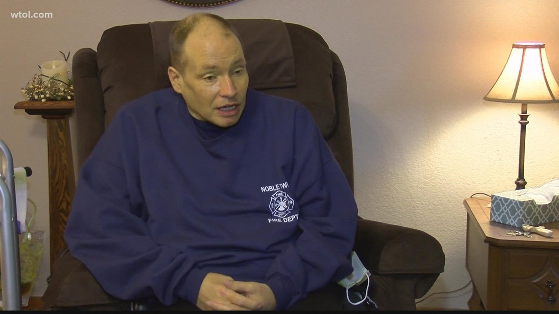 Former firefighter shares his COVID complication story nearly a year later
