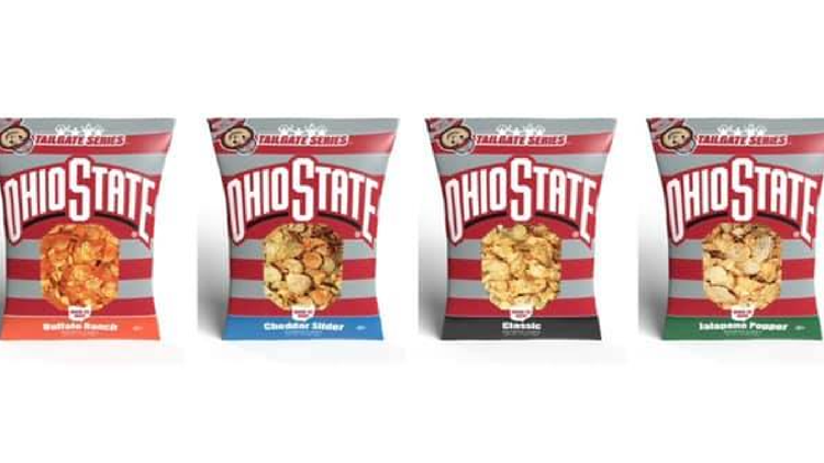 Ballreich's teaming up with the Buckeyes to launch new OSU-themed potato chips