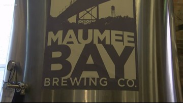Christmas is coming early! Maumee Bay's Blitzen holiday ale returns today