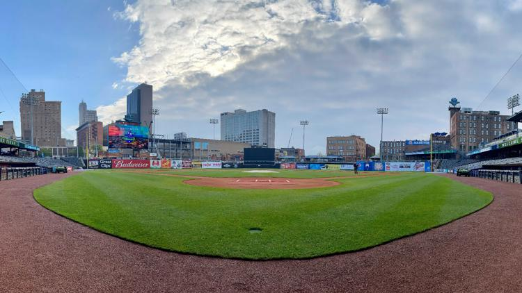 Ushering in a new season: Fifth Third Field workers happy to welcome back the Hens - and the fans they've dearly missed