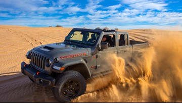 Jeep unveils new desert-rated Gladiator Mojave, built in Toledo