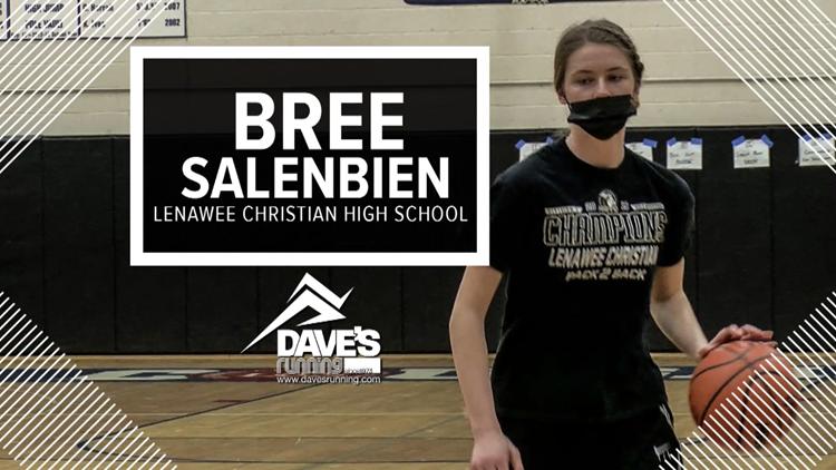 Athlete of the Week: Lenawee Christian's Bree Salenbien