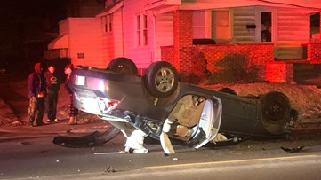Power restored to east Toledo neighborhood after nasty rollover crash knocks out power