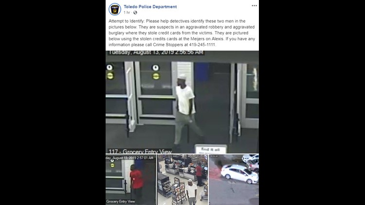 Aggravated robbery suspects