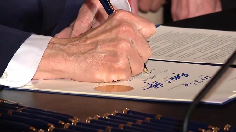 GALLERY: Ohio Gov. Mike DeWine signs Collin's Law