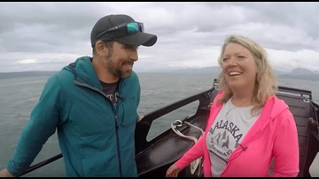 Surfing in Alaska? Kelly Heidbreder says it's true - take a look at the fastest tide in the world!