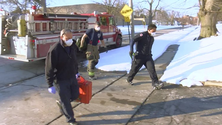 Toledo Fire and Rescue crews brave freezing temperatures to save lives