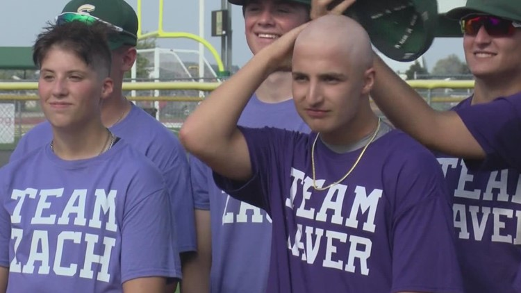 Evergreen community rallies together to raise money for student-athlete's cancer treatment with charity softball game
