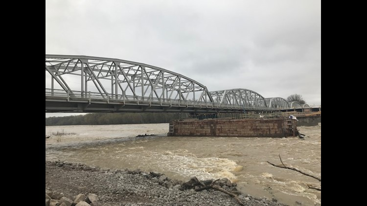 Waterville Bridge project could be delayed until next spring due to heavy rain, flooding