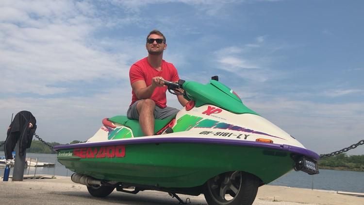 Jet ski-motorcycle hybrid making waves on Toledo's roads