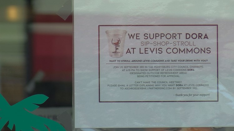 DORA support Levis Commons