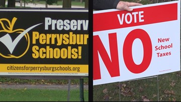 Perrysburg voters support much-debated school levy