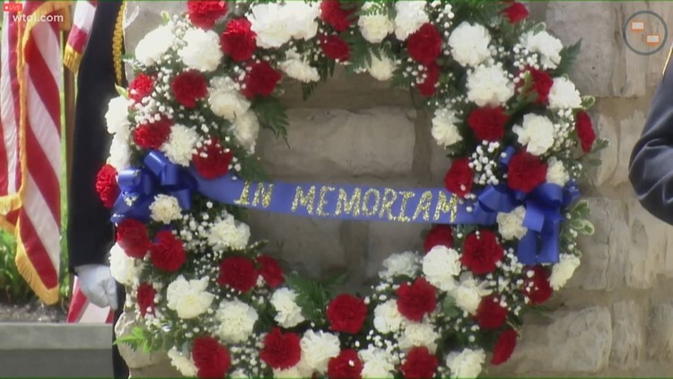 Ofc. Anthony Dia honored  at Ohio Peace Officers' Memorial Ceremony