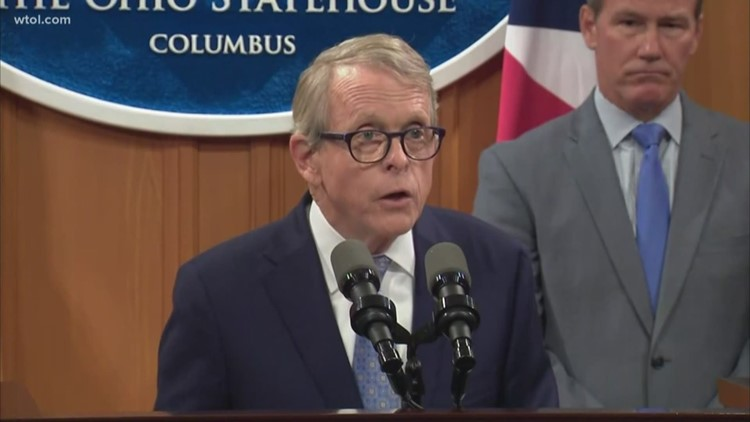 DeWine weighs in on gun background checks in Ohio
