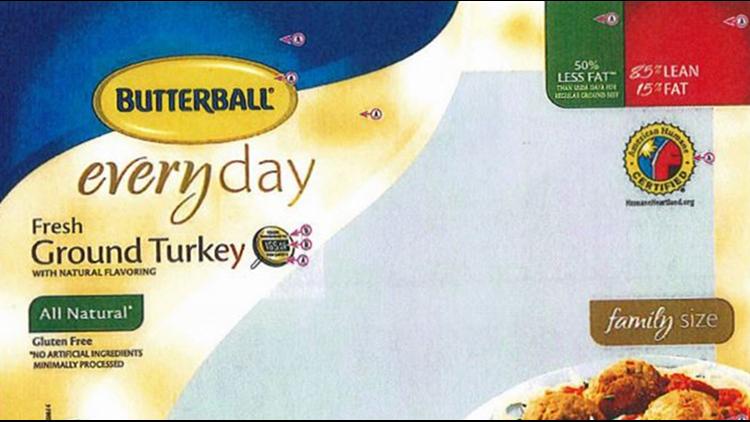 Check your freezer: Butterball recalls ground turkey