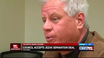 11 Investigates: Maumee council approves deal with Jezak