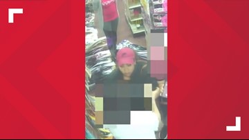 WATCH | TPD attempting to identify woman wanted for robbery at the Manhattan Beauty Supply