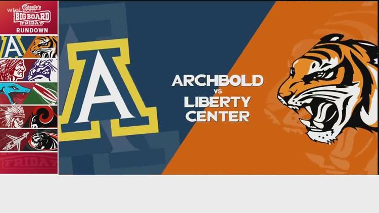 Big Board Friday Week 5: Archbold vs. Liberty Center