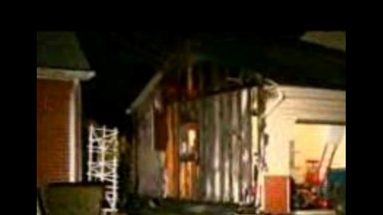 West Toledo garage catches fire overnight