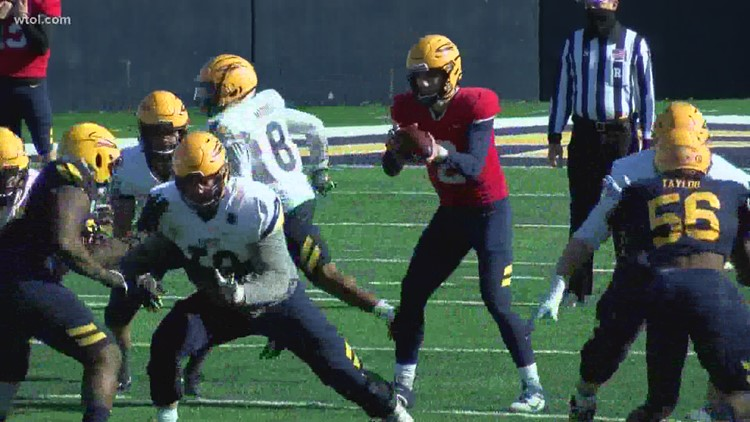 Toledo football wraps up spring practices with final scrimmage