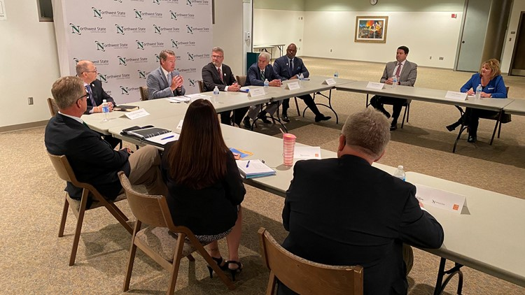 Lt. Gov. Jon Husted attends roundtable discussion in Archbold on workforce development